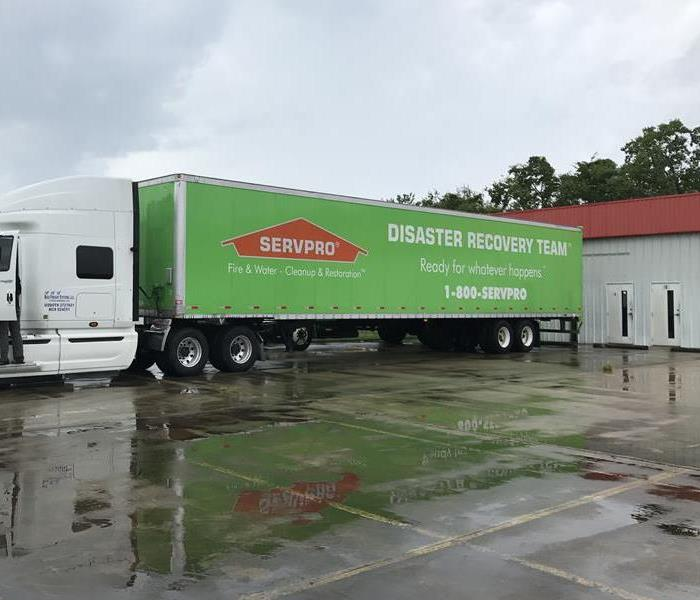 Storm Damage SERVPRO Disaster Recovery Team